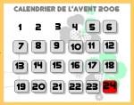 calendrier web2.0 de l'avent