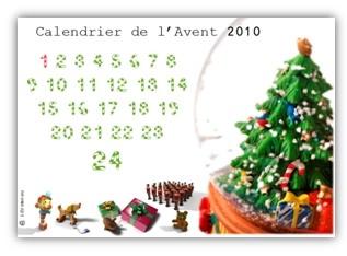 calendrier de l'avent 2010